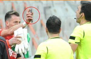Sivassporlu Arslan'ın hakeme telefon gösterme olayı Avrupa medyasında manşete çıktı