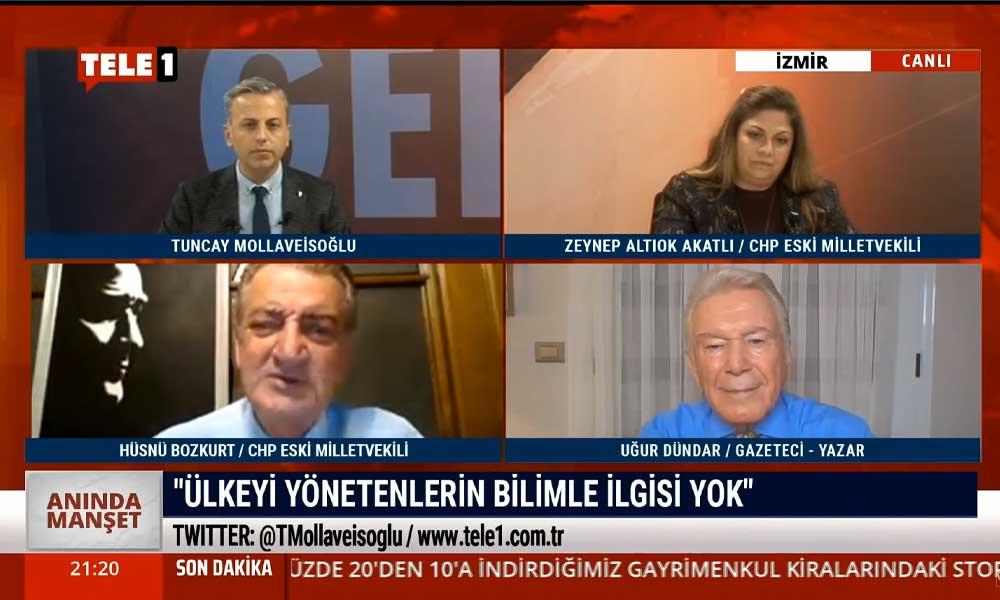 CHP eski Milletvekili Hüsnü Bozkurt: Bu ülkeyi yönetenlerin bilimle alakaları yok