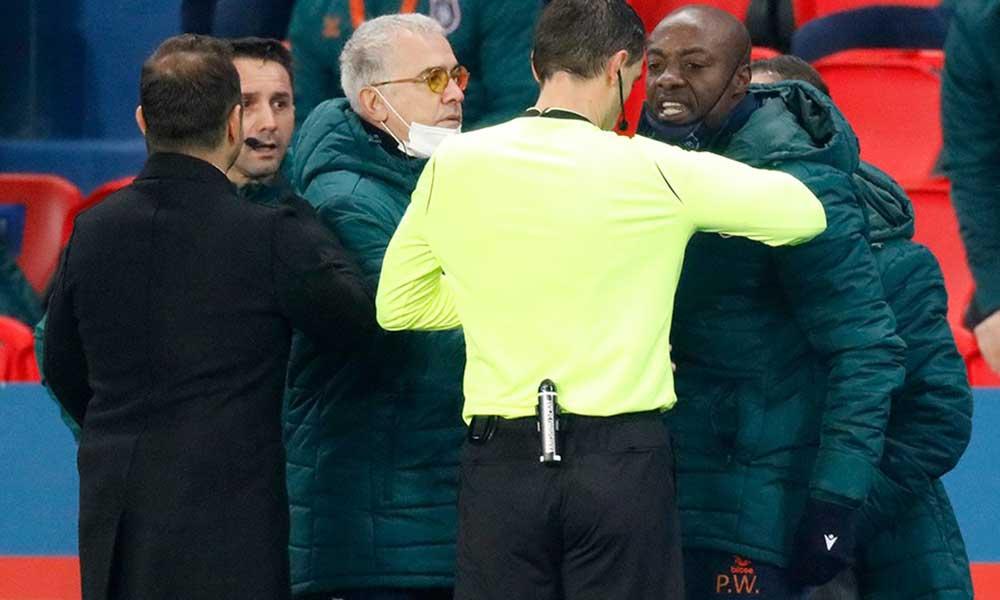 PSG – Başakşehir maçında yaşanan ırkçılığa karşı oyunculardan takdir toplayacak 'organizasyon'