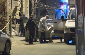 Yanan araçtan 2 kişinin cansız bedeni çıktı
