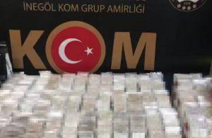 Bursa'da 45 bin paket kaçak sigara ele geçirildi