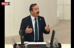 İYİ Partili Yavuz Ağıralioğlu'nun Meclis'te yaptığı 'Süleyman Soylu' taklidi gündem oldu!