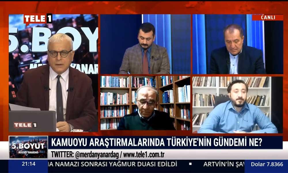 Avrasya Araştırma Başkanı Kemal Özkiraz TELE1'de açıkladı: İşte seçim anketinin şaşırtan sonuçları