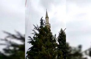 Köy imamı camiden Mansur Yavaş'a teşekkür etti