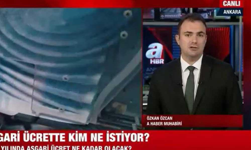 Yandaş A Haber kurul toplanmadan asgari ücret zammını açıkladı