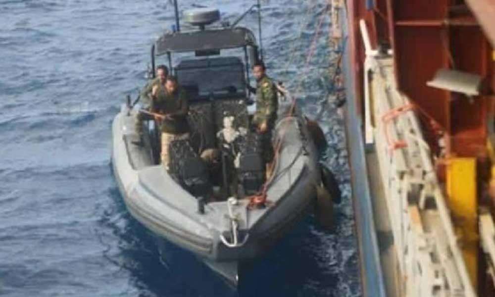 Hafter güçleri tarafından el konulan Türk gemisi serbest bırakıldı