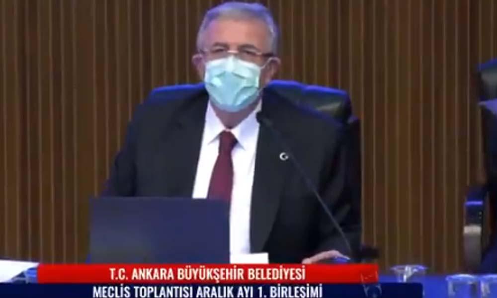 Yavaş'tan AKP grubuna: Masaya çık tepin istersen