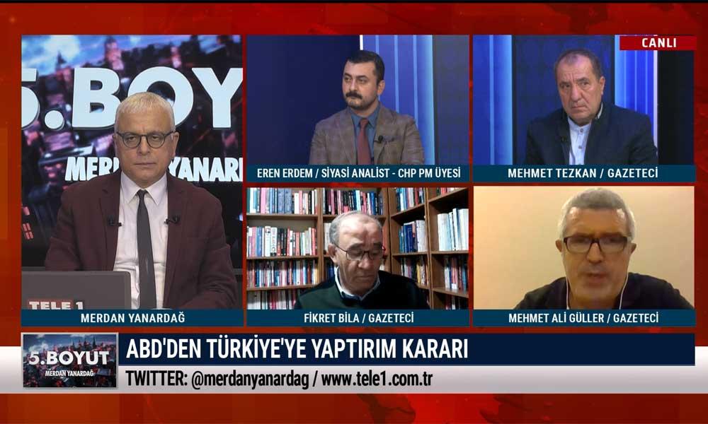 Mehmet Ali Güller: Tartışma, AKP S-400'ü aldığı için değil S-400'leri siyasette kullandığı için çıktı