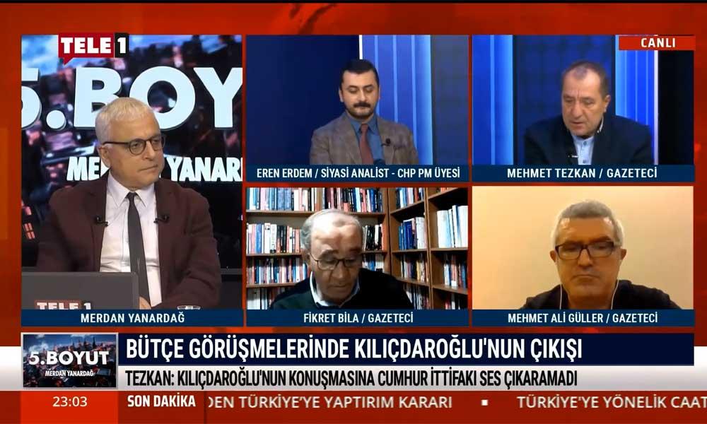 Mehmet Tezkan: AKP ve MHP herhalde Erdoğan'dan vazgeçmiş