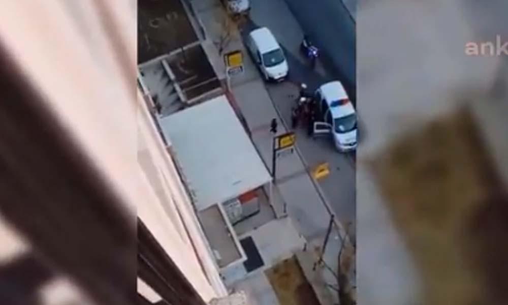 Menemen'de esnaf, ters kelepçe takılıp darp edilerek gözaltına alındı