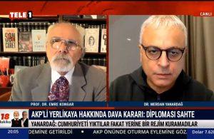 Merdan Yanardağ: Bu rejim Hamza Yerlikaya rezaletinin rejimidir