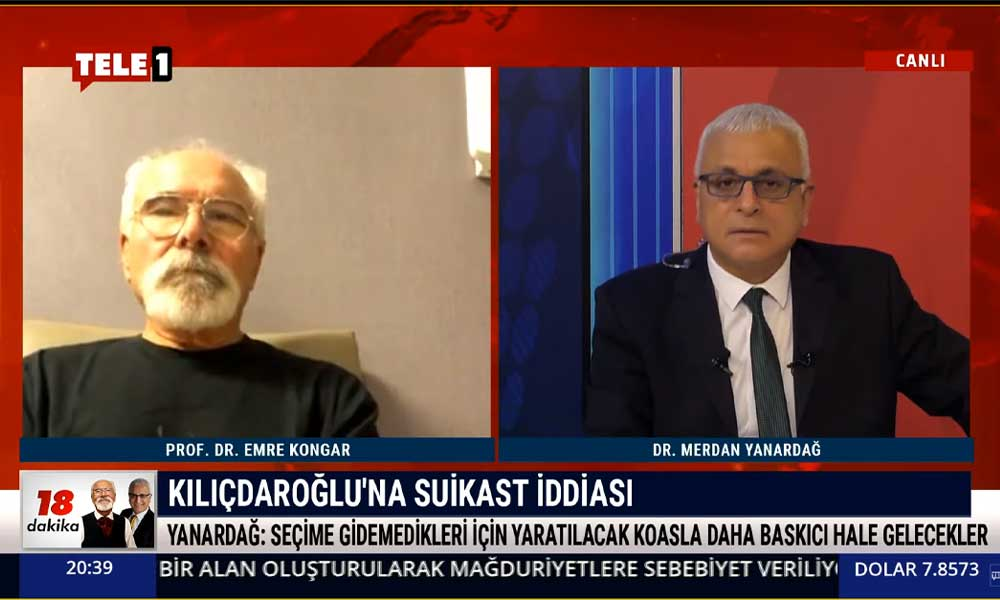 Kılıçdaroğlu'na suikast mi düzenlenecek? Merdan Yanardağ açıkladı
