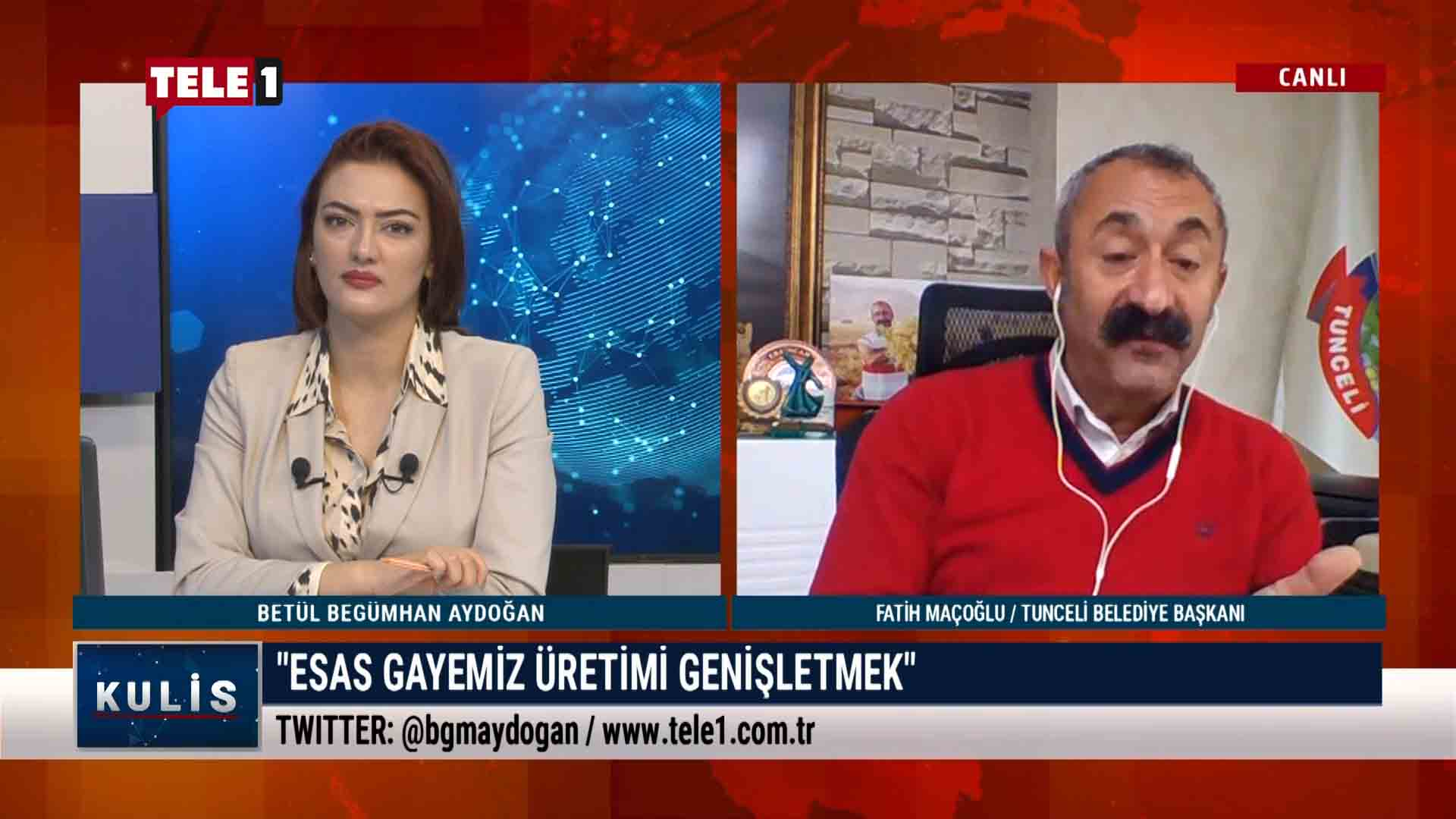Fatih Maçoğlu Tunceli'deki tarikatlaşmayı anlattı