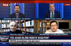 CHP Genel Başkan Yardımcısı Muharrem Erkek: Saray duvarları arasında büyük bir korku var