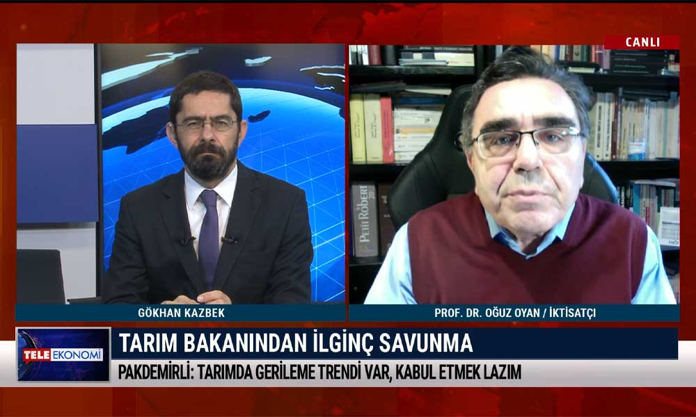 İktisatçı Prof. Dr. Oğuz Oyan: Türkiye'de çiftçilik yapmak mucizevi bir iş