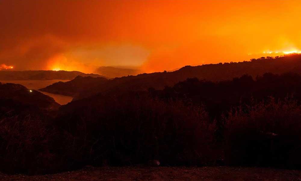 ABD bir kez daha orman yangınlarına teslim oldu
