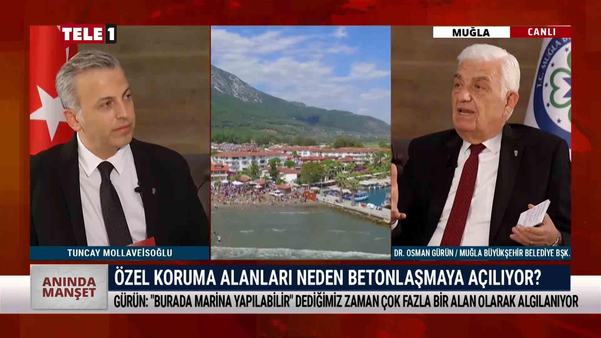 Bodrum'da bir milyon metrekare alan imara açıldı – ANINDA MANŞET