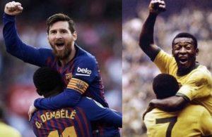 Pele'den Messi mesajı!