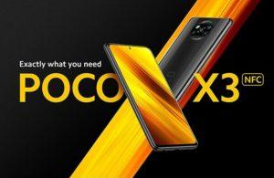 POCO X3 güncelleme aldı