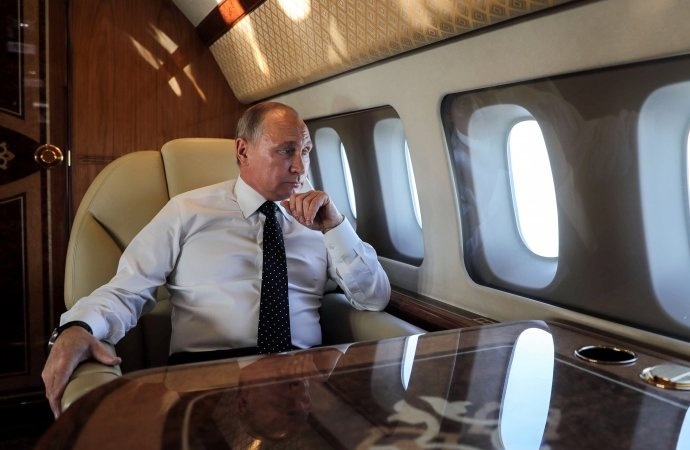 Putin'in uçağı soyuldu