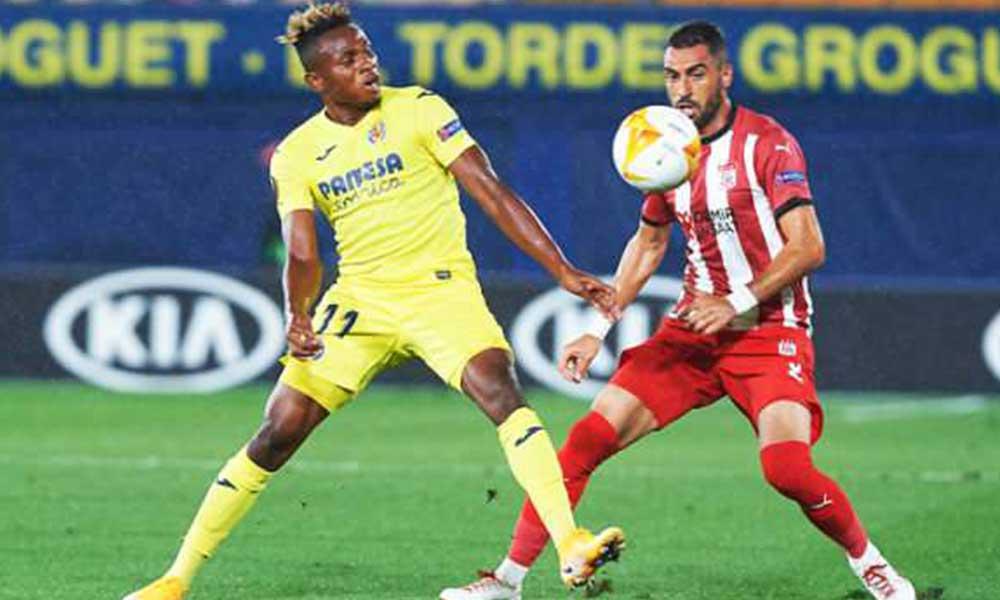 Sivasspor, Villarreal maçından mağlup ayrıldı