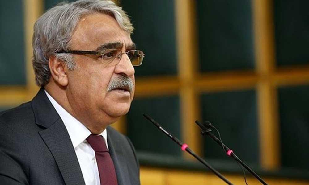 HDP Eş Genel Başkanı Sancar: Semih Yalçın'ın sözleri uluslararası hukukta insanlığa karşı suç tipidir
