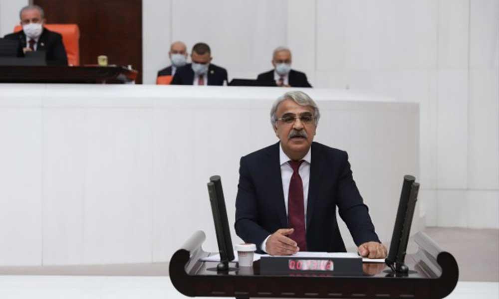 HDP Eş Genel Başkanı Sancar: Bu bütçe savaşa,yandaşa ve saraya bütçedir; halka değil