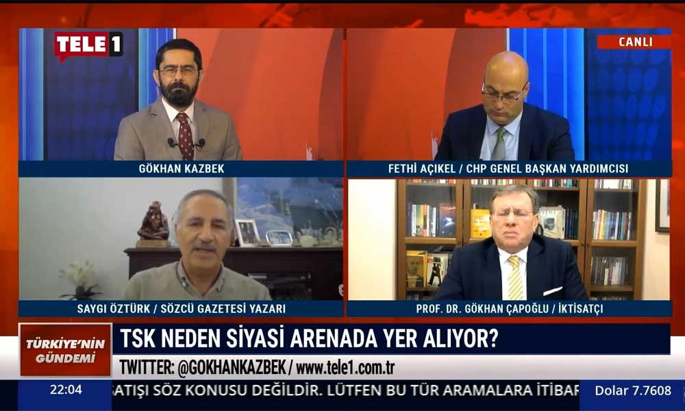 Saygı Öztürk: Suskun Genelkurmay Başkanı'nın konu CHP olunca açıklama yapması yadırgandı