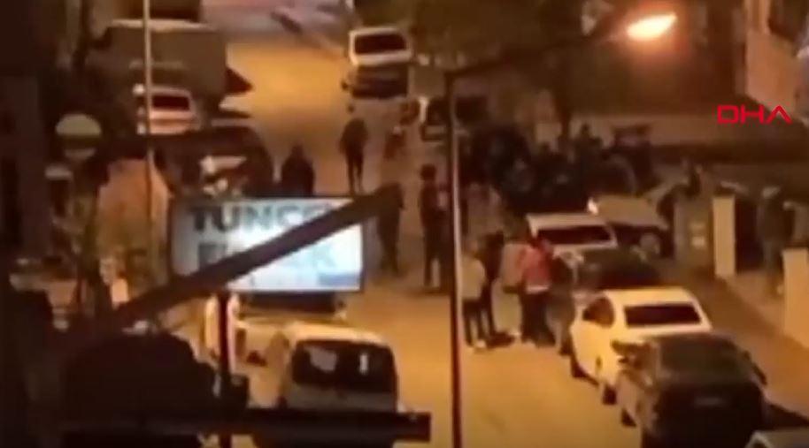 Vakaların patladığı şehirde tepki çeken görüntüler