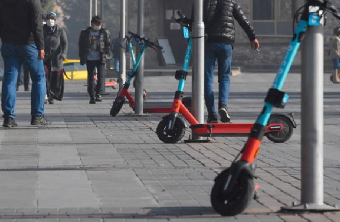 Scooterlara hız sınırı