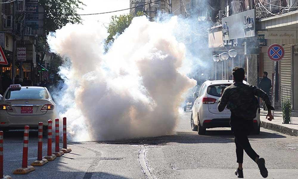 Süleymaniye'deki protestolarda 15 kişi yaralandı