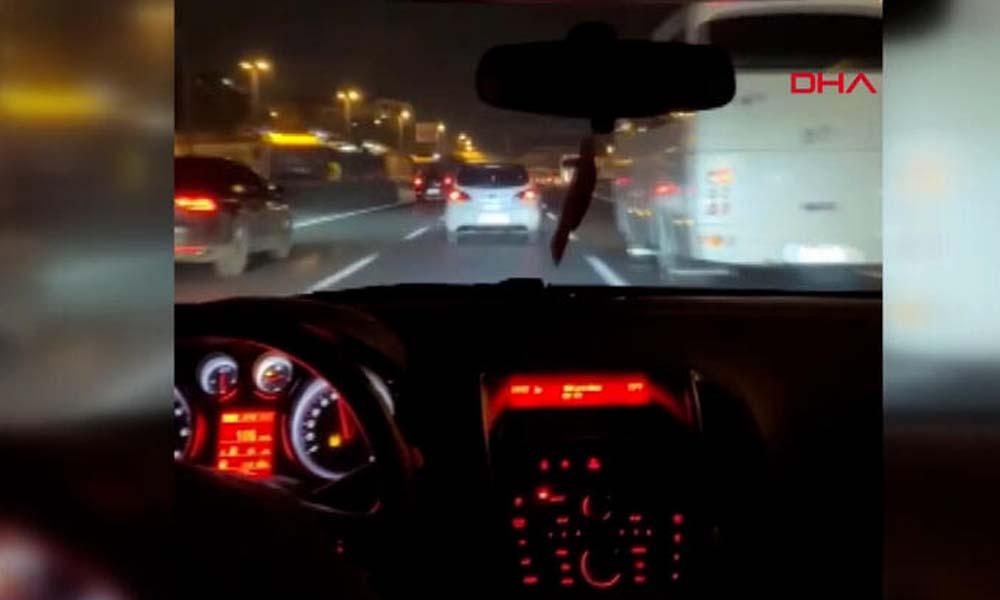 Trafikte 'makas' atan sürücüye bin 360 lira para cezası