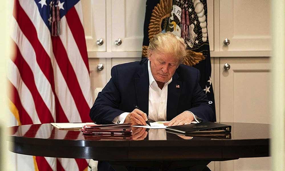 Trump imzaladı: Koronavirüs aşısında Amerikalılara öncelik verilecek
