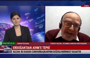Turgut Kazan: Trump, tehditle cezaevinden insan çıkardı; bu ülkede hukuk yok