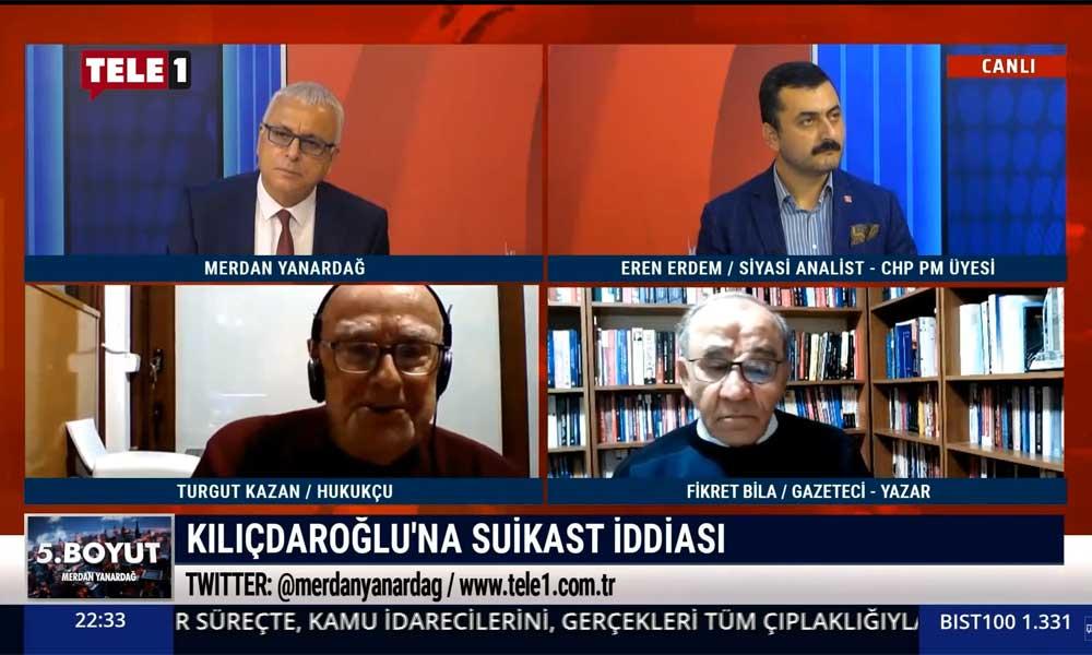 Turgut Kazan: Türkiye bir kaos ortamına çekilmek isteniyor