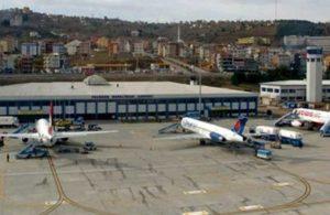 Trabzon Havalimanı'nda uçuşlar durduruldu