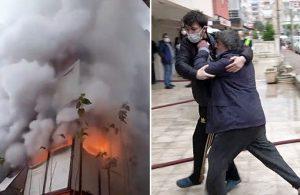 Madde bağımlısı genç ailesinin evini yakıp kaçtı