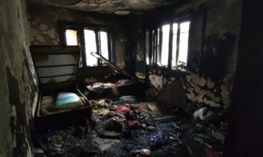 Ağrı'da yangın faciası; baba ve 2 çocuğu öldü