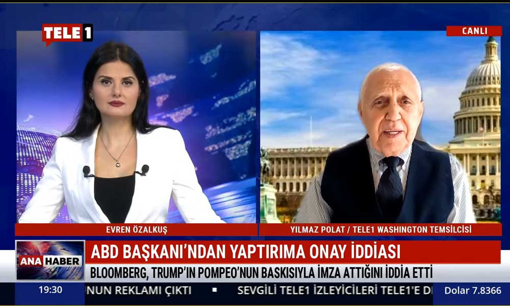Trump, Türkiye'ye yaptırım kararını imzaladı mı? TELE1 Washington Temsilcisi Yılmaz Polat açıkladı