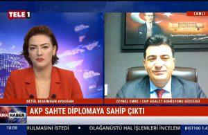 CHP İstanbul Milletvekili Zeynel Emre: İktidar, hoşlanmadığı kurumlara müdahale etme hakkı elde etti