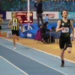 Milli atlet Berke Akçam'dan bir rekor daha