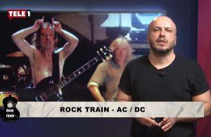AC/DC Rock Train'de