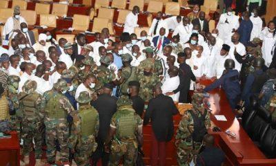 Meclis Başkanı seçimine ordu müdahalesi