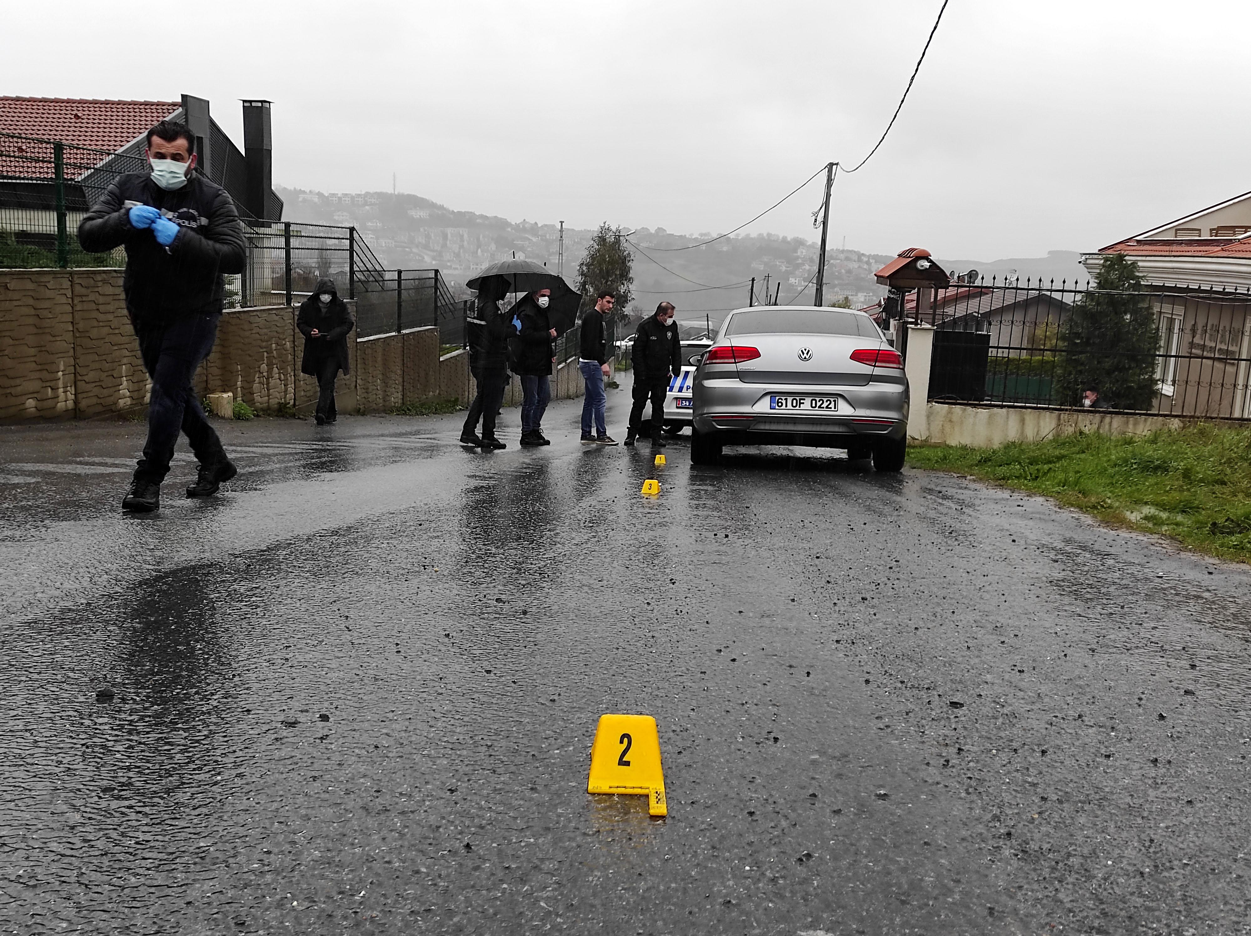 Sarıyer'de iş insanına silahlı saldırı