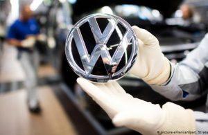 Alman şirketi Volkswagen zirveyi kaptırdı!