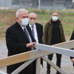 Başkan Atay, proje inşaat alanlarını denetledi