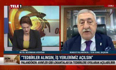TESK Genel Başkanı Palandöken, Cumhurbaşkanı Erdoğan'la yaptığı görüşmeyi değerlendirdi – GÜN ORTASI