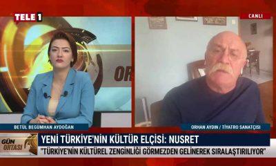 Orhan Aydın: Kültür ve sanat alanında AKP'nin yaptıklarını düşününce 'kültür elçisi'ni yadsımadım – GÜN ORTASI