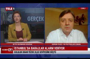 """""""İstanbul'da suya duyulan ihtiyaç her yıl 25 milyon metreküp artıyor"""" – HABER 13"""