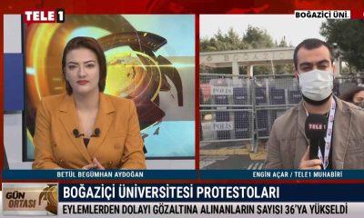 Boğaziçi Üniversitesi öğrencisi yaşananları TELE1'e anlatıyor – GÜN ORTASI
